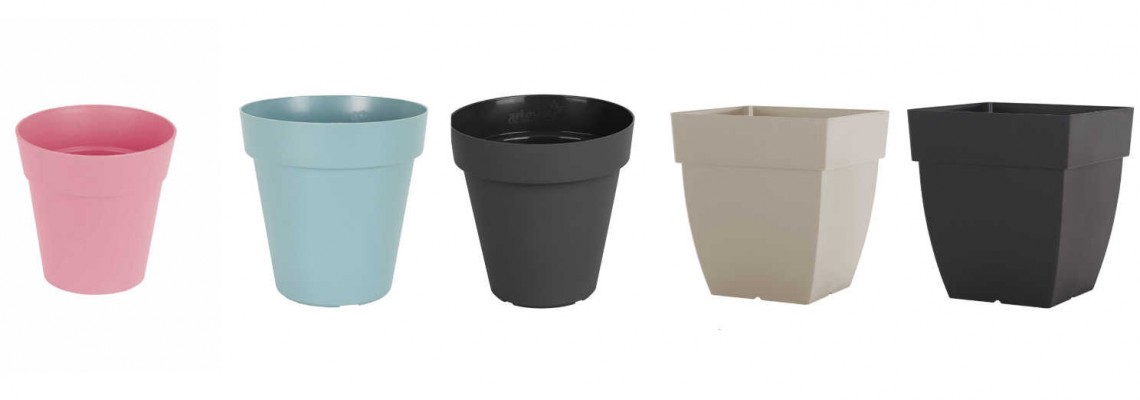 Plastic Pots and Containers