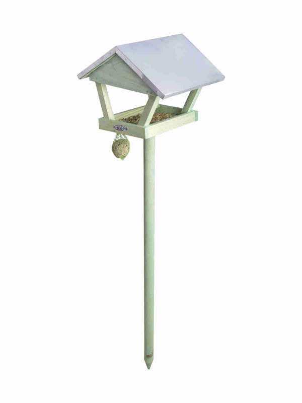 Bird House on Stake