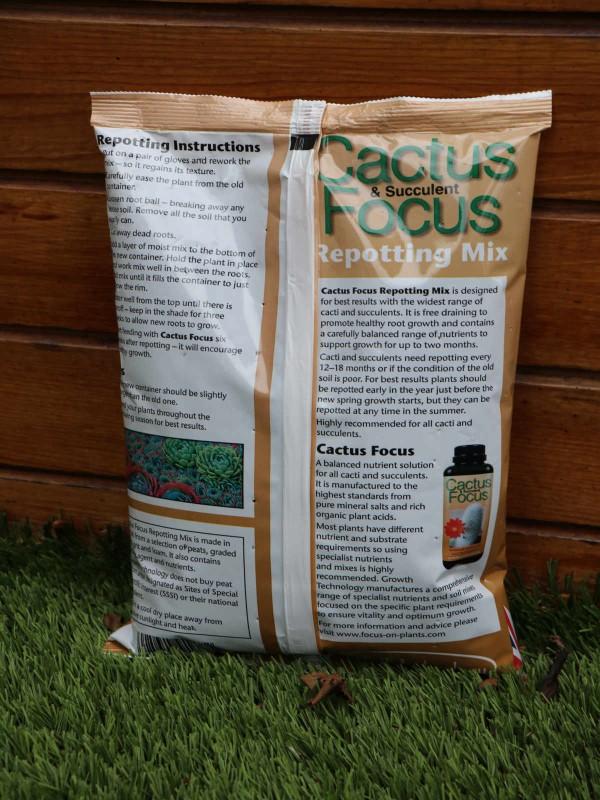 Cactus Focus Repotting Mix