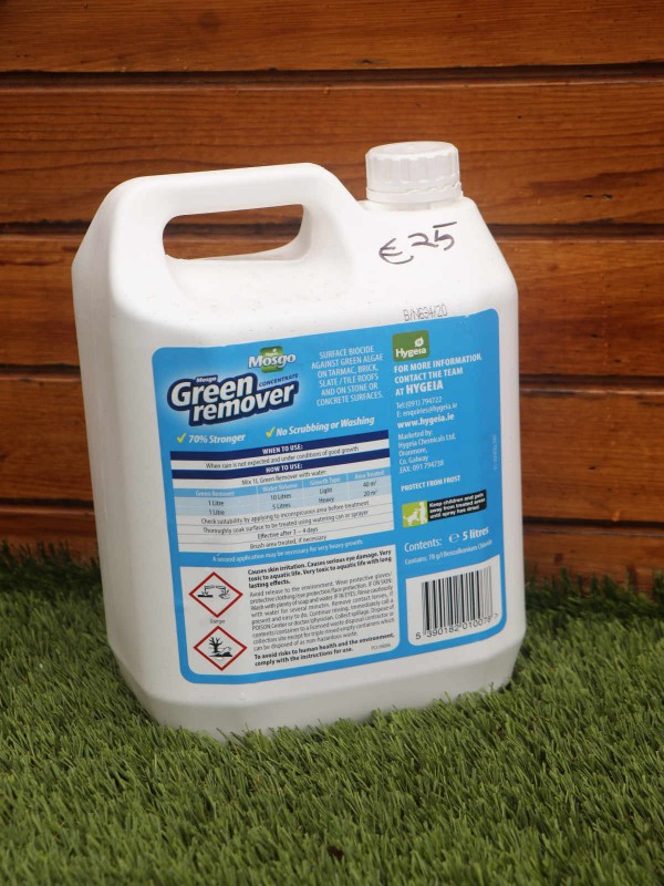 Mosgo Green Remover 5 litre