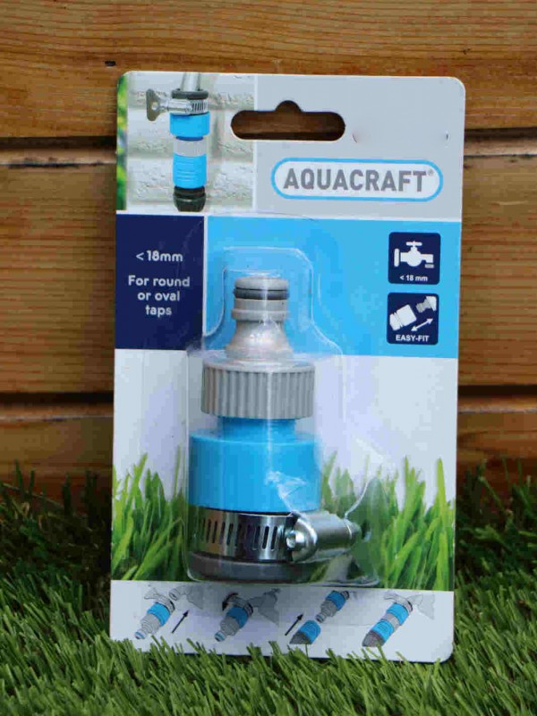 Aquacraft 18mm inch tap hose connector