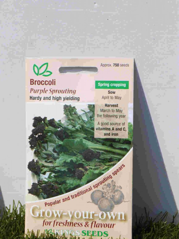 Broccoli Purple sprouting Seeds