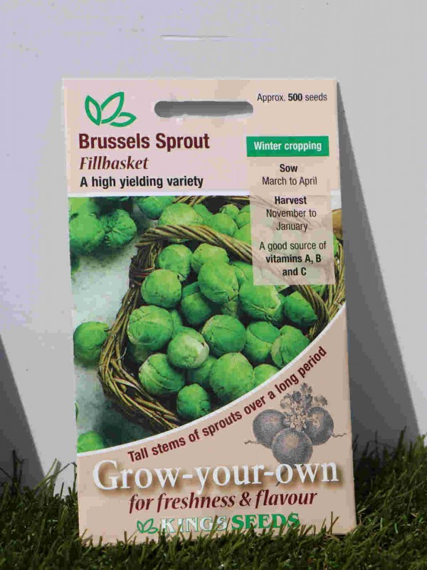 Brussels Sprouts FillBasket Seeds
