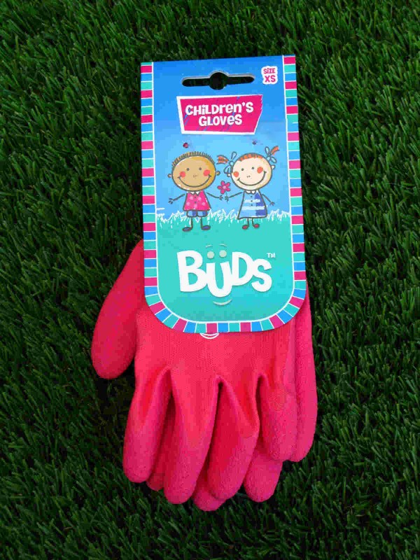 Buds Childrens Gloves - Pink