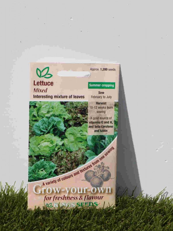 Lettuce Mixed Seeds