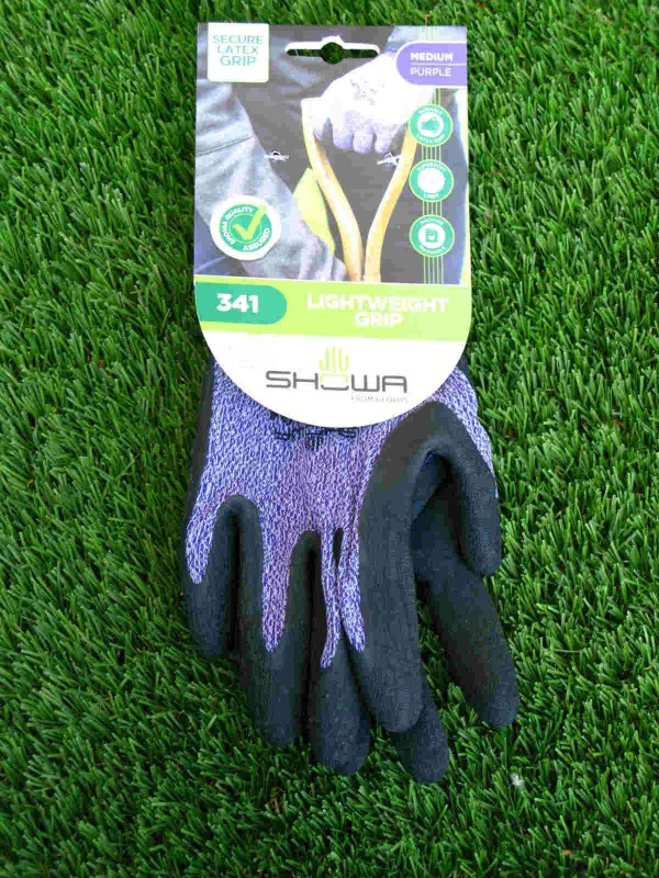 Lilac Lightweight Grip Gloves