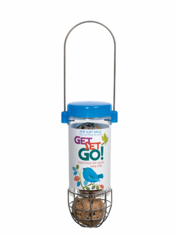 Get SET Go! Suet Ball Feeder - Blue